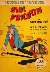 Bibi Fricotin (3e Série - Jeunesse Joyeuse) (1) -35- Bibi Fricotin en difficulté