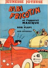 Bibi Fricotin (3e Série - Jeunesse Joyeuse) (1) -41- Bibi Fricotin et l'appareil magique