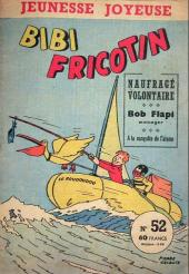 Bibi Fricotin (3e Série - Jeunesse Joyeuse) (1) -52- Bibi Fricotin naufragé volontaire