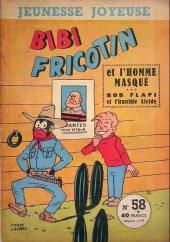 Bibi Fricotin (3e Série - Jeunesse Joyeuse) (1) -58- Bibi Fricotin et l'homme masqué