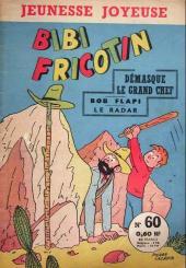 Bibi Fricotin (3e Série - Jeunesse Joyeuse) (1) -60- Bibi Fricotin démasque le grand chef