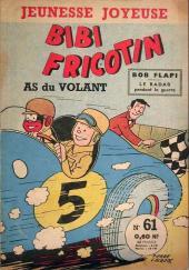 Bibi Fricotin (3e Série - Jeunesse Joyeuse) -61- Bibi Fricotin as du volant