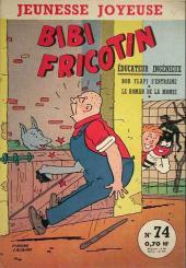 Bibi Fricotin (3e Série - Jeunesse Joyeuse) (1) -74- Bibi Fricotin éducateur ingénueux
