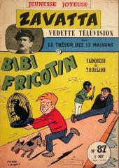 Bibi Fricotin (3e Série - Jeunesse Joyeuse) -87- Bibi Fricotin vainqueur de Trublion