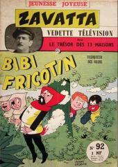 Bibi Fricotin (3e Série - Jeunesse Joyeuse) (1) -92- Bibi Fricotin vainqueur des nains