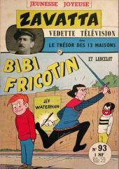 Bibi Fricotin (3e Série - Jeunesse Joyeuse) (1) -93- Bibi Fricotin et Lancelot