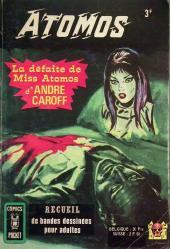 (Recueil) Comics Pocket -3058- La défaite de Miss Atomos - Atomos (n°5 et n°6)
