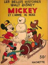 Les belles histoires Walt Disney (1re Série) -56- Mickey et l'homme de neige
