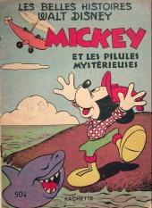 Les belles histoires Walt Disney (1re Série) -59- Mickey et les pilules mystérieuses