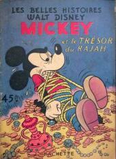 Les belles histoires Walt Disney (1re Série) -19- Mickey et le Trésor du Rajah