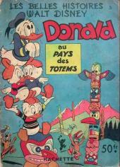 Les belles histoires Walt Disney (1re Série) -32- Donald au pays des totems