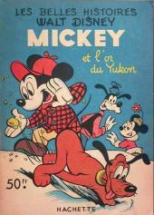 Les belles histoires Walt Disney (1re Série) -37- Mickey et l'or du Yukon