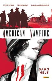 Couverture de American Vampire -1- Sang neuf
