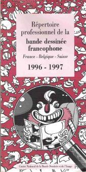 (DOC) Études et essais divers - Répertoire professionnel de la bande dessinée francophone - France-Belgique-Suisse - 1996-1997