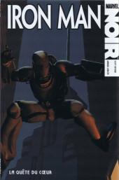 Marvel Noir -8- Iron Man : la quête du cœur