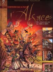 L'alsace -7- De l'aigle aux lys (de 1605 à 1697)