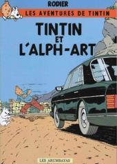 Tintin - Pastiches, parodies & pirates -19- Tintin et l'Alph-Art