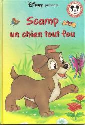 Mickey club du livre -225- Scamp un chien tout fou
