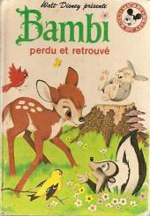 Mickey club du livre -45- Bambi perdu et retrouvé