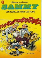 Sammy -6a80- Les gorilles font les fous