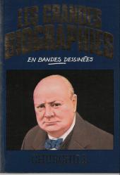 Les grandes biographies en bandes dessinées - Churchill