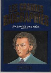 Les grandes biographies en bandes dessinées - Chopin