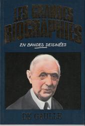 Les grandes biographies en bandes dessinées - De Gaulle