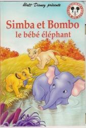 Mickey club du livre -231- Simba et Bombo le bébé éléphant