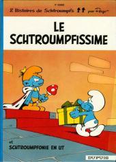 Les schtroumpfs -2b93- Le Schtroumpfissime (+ Schtroumpfonie en ut)