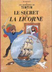 Tintin (Historique) -11B20bis- Le secret de la licorne