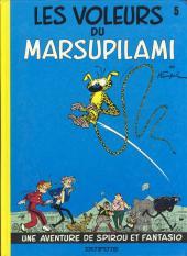 Spirou et Fantasio -5e77- Les voleurs du Marsupilami