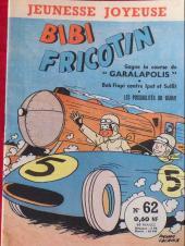 Bibi Fricotin (3e Série - Jeunesse Joyeuse) (1) -62- Bibi Fricotin gagne sa course de