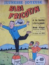Bibi Fricotin (3e Série - Jeunesse Joyeuse) (1) -49- Bibi Fricotin et les lunettes à lire la pensée