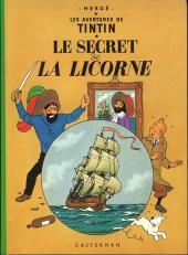 Tintin (Historique) -11C4- Le secret de la licorne