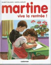 Martine -5- Martine, vive la rentrée !