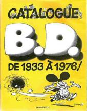 (DOC) Encyclopédies diverses -71976- Catalogue B.D. de 1933 à 1976 !