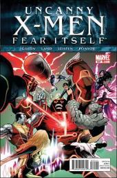 Uncanny X-Men (The) (1963) -541- Fear itself part 2