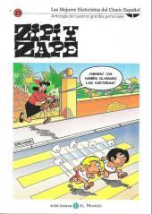 Mejores historietas del cómics español (las) (Espagnol) -23- Zipi y Zape