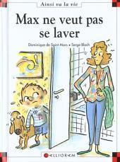 Ainsi va la vie (Bloch) -56- Max ne veut pas se laver