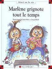 Ainsi va la vie (Bloch) -64- Marlène grignote tout le temps