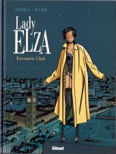 Couverture de Lady Elza -1- Excentric Club