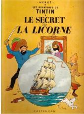 Tintin (Historique) -11B36- Le secret de la licorne
