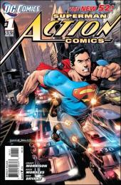 Action Comics (2011) -1- Superman versus the City of Tomorrow