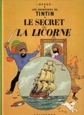 Tintin (Historique) -11B42- Le secret de la licorne