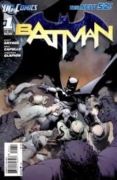 Batman (2011) -1- Knife trick