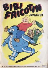 Bibi Fricotin (2e Série - SPE) (Après-Guerre) -17- Bibi Fricotin inventeur
