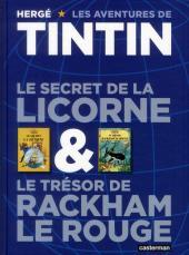 Tintin (Historique) -INT- Le Secret de la Licorne & Le Trésor de Rackham le Rouge