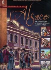 L'alsace -8- Une province dans le royaume de france (de 1698 à 1792)