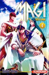 Magi (The labyrinth of magic) -4- Tome 4