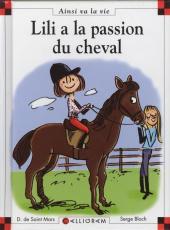 Ainsi va la vie (Bloch) -92- Lili a la passion du cheval